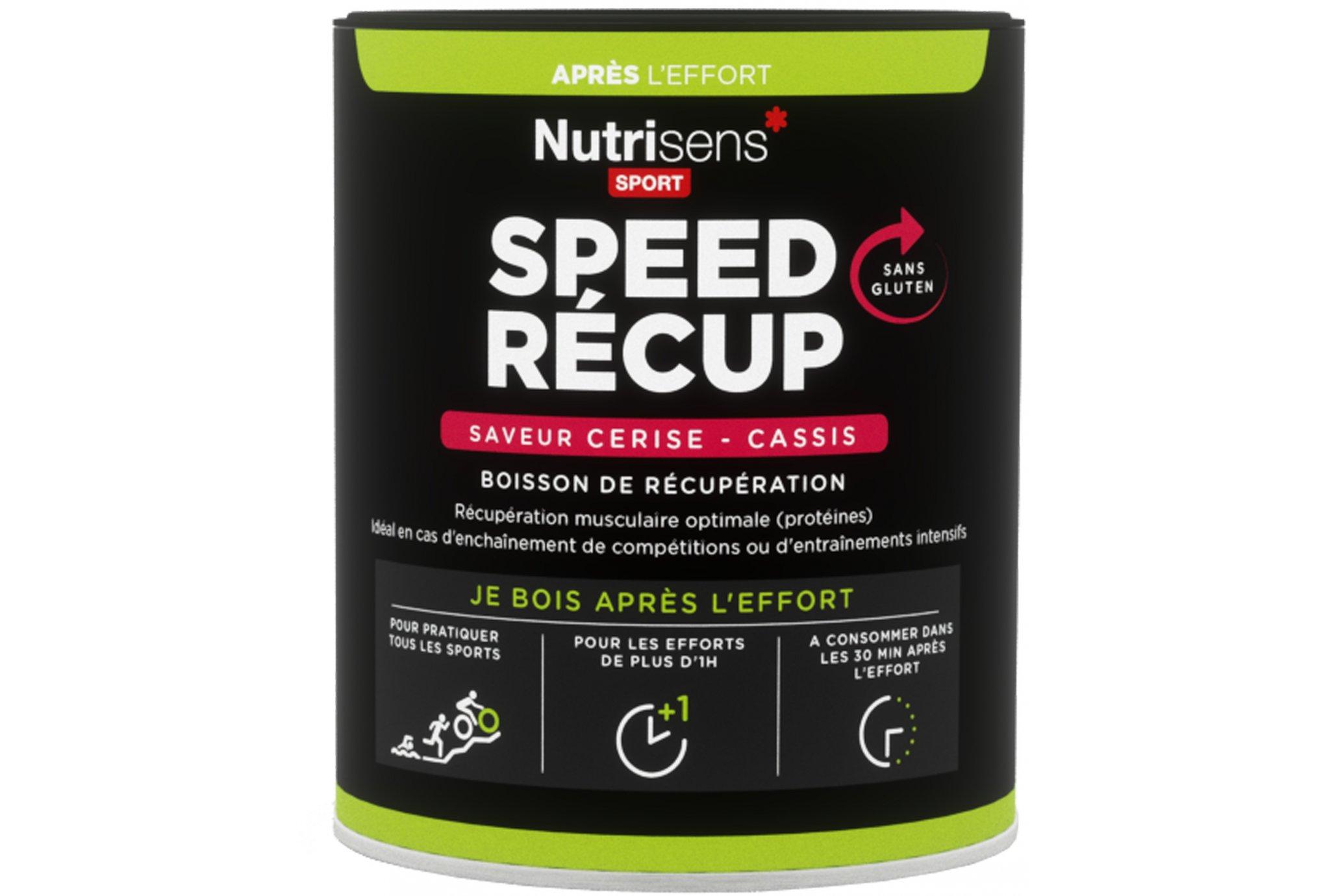 Nutrisens Sport speed récup - cerise/cassis diététique protéines / récupération