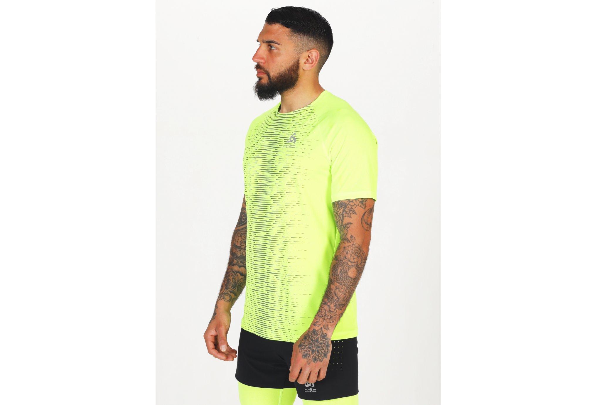 Odlo Essential Print ECO M vêtement running homme