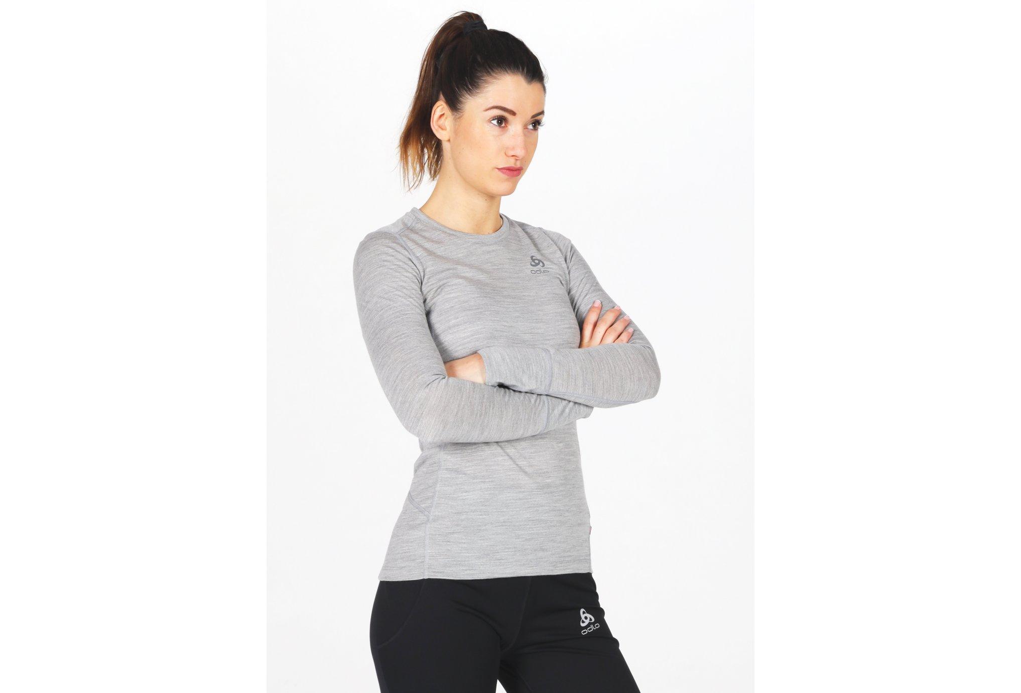 Odlo Natural 100% Merino W Diététique Vêtements femme