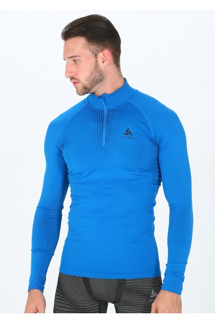 Odlo camiseta manga larga Performance Warm 1/2 zip
