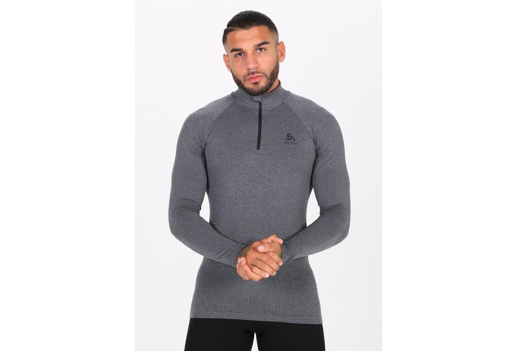 Odlo Performance Warm ECO 1/2 zip M Diététique Vêtements homme