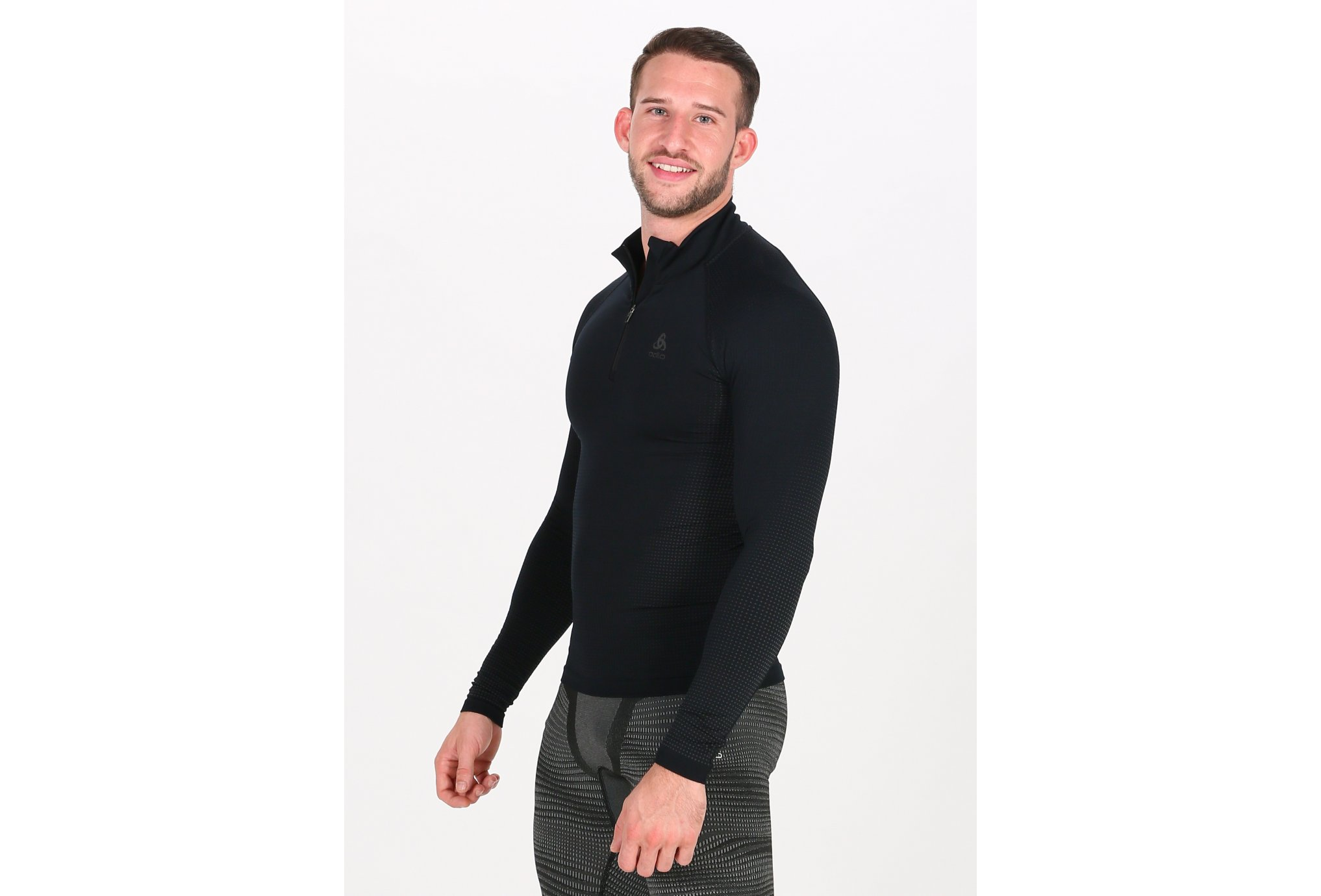 Odlo Performance Warm ECO 1/2 zip M vêtement running homme