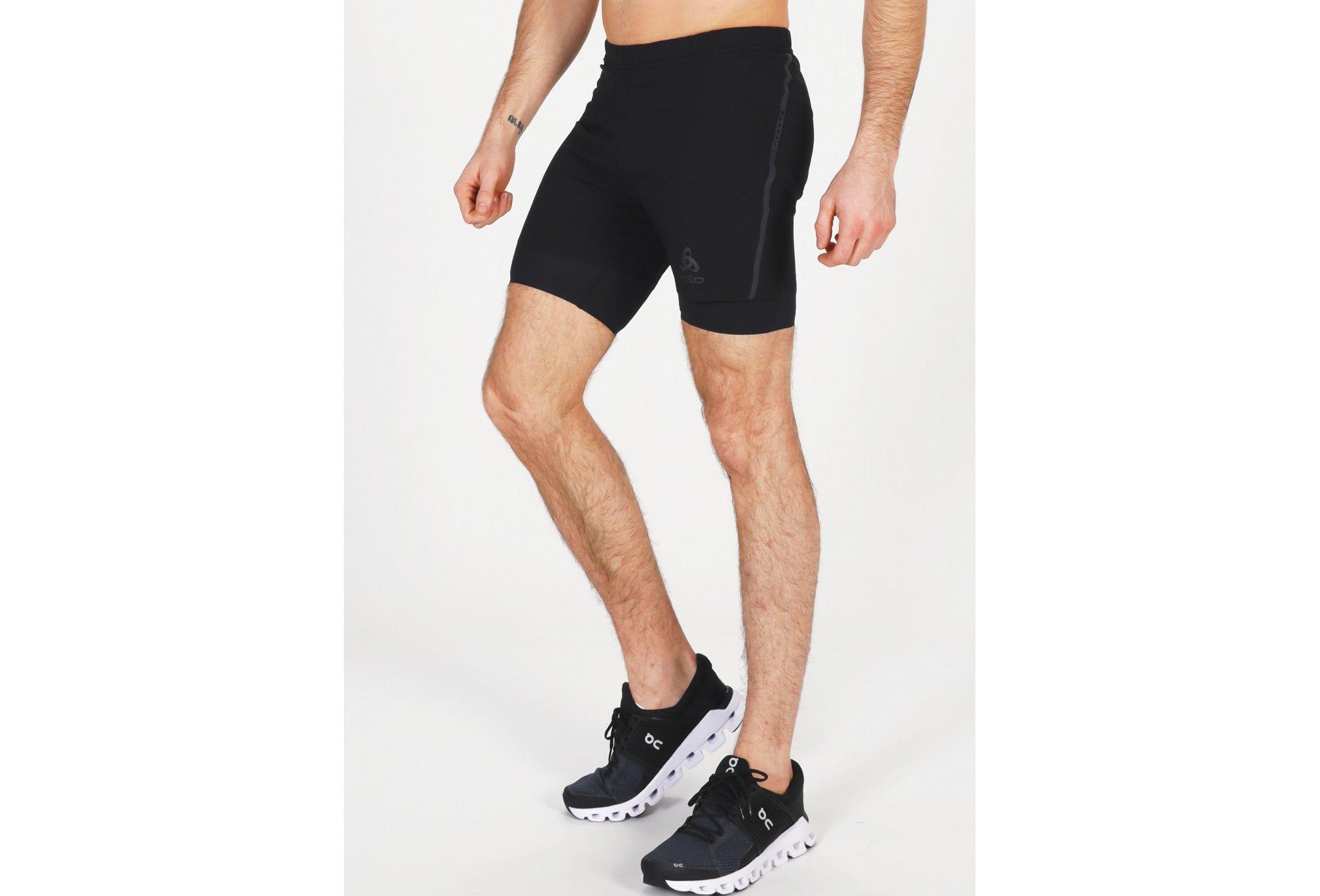 Odlo Zeroweight Blackpack 2 en 1 M vêtement running homme