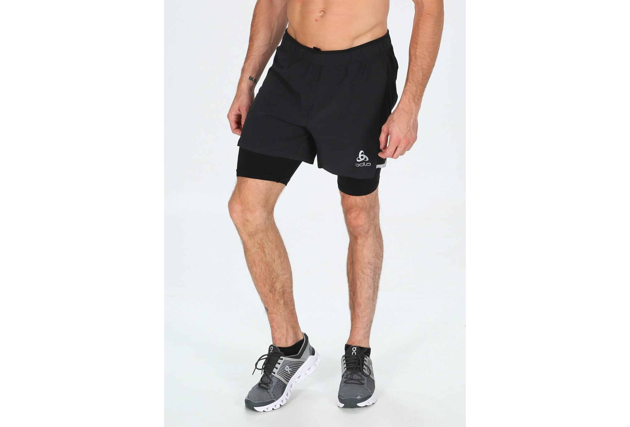 Odlo ZeroWeight CeramiCool 2 en 1 M vêtement running homme