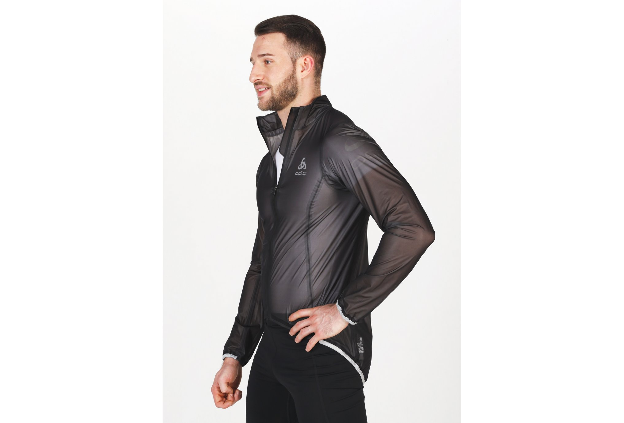 Odlo Zeroweight Dual Dry Waterproof M vêtement running homme