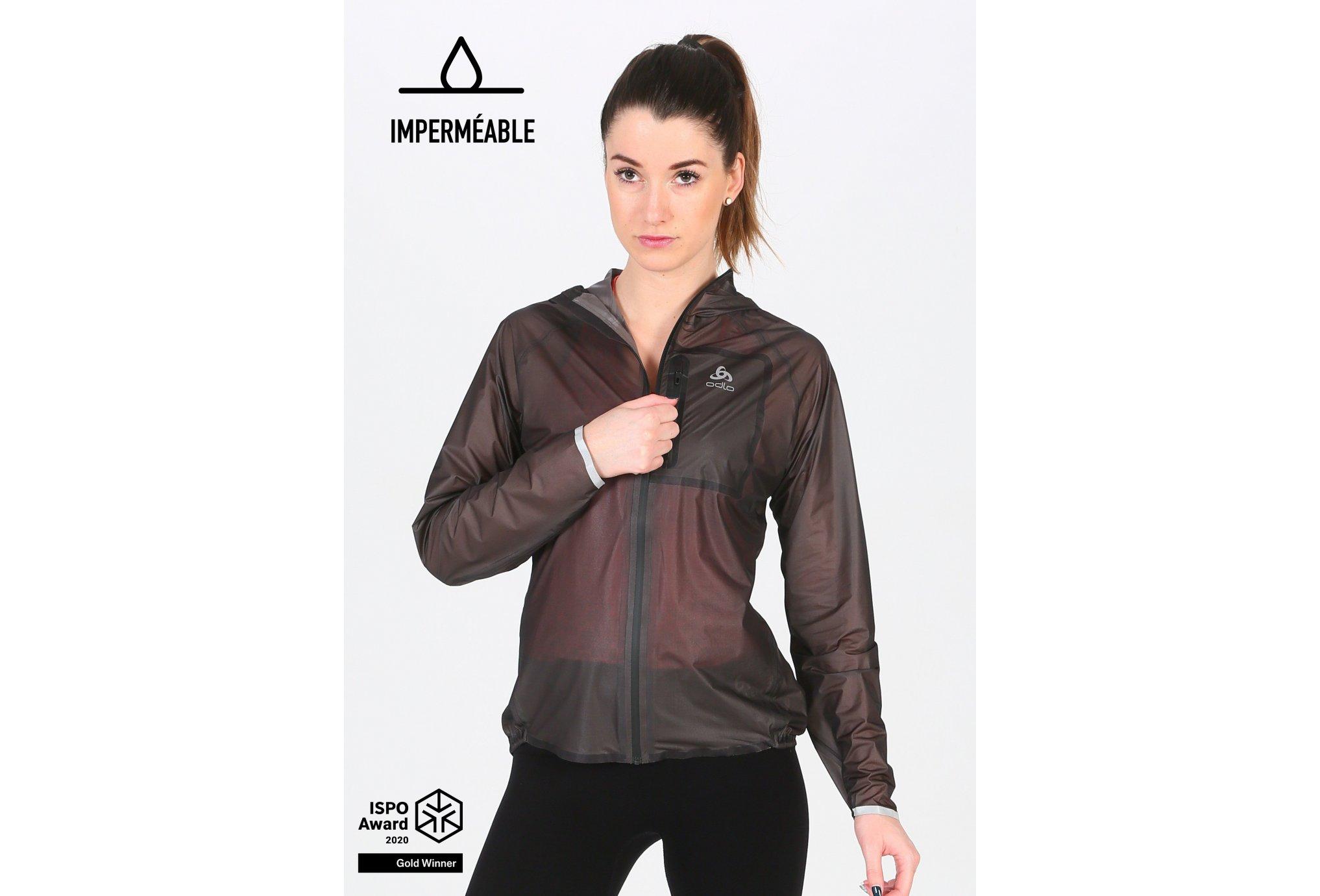 Odlo Zeroweight Dual Dry Waterproof W vêtement running femme
