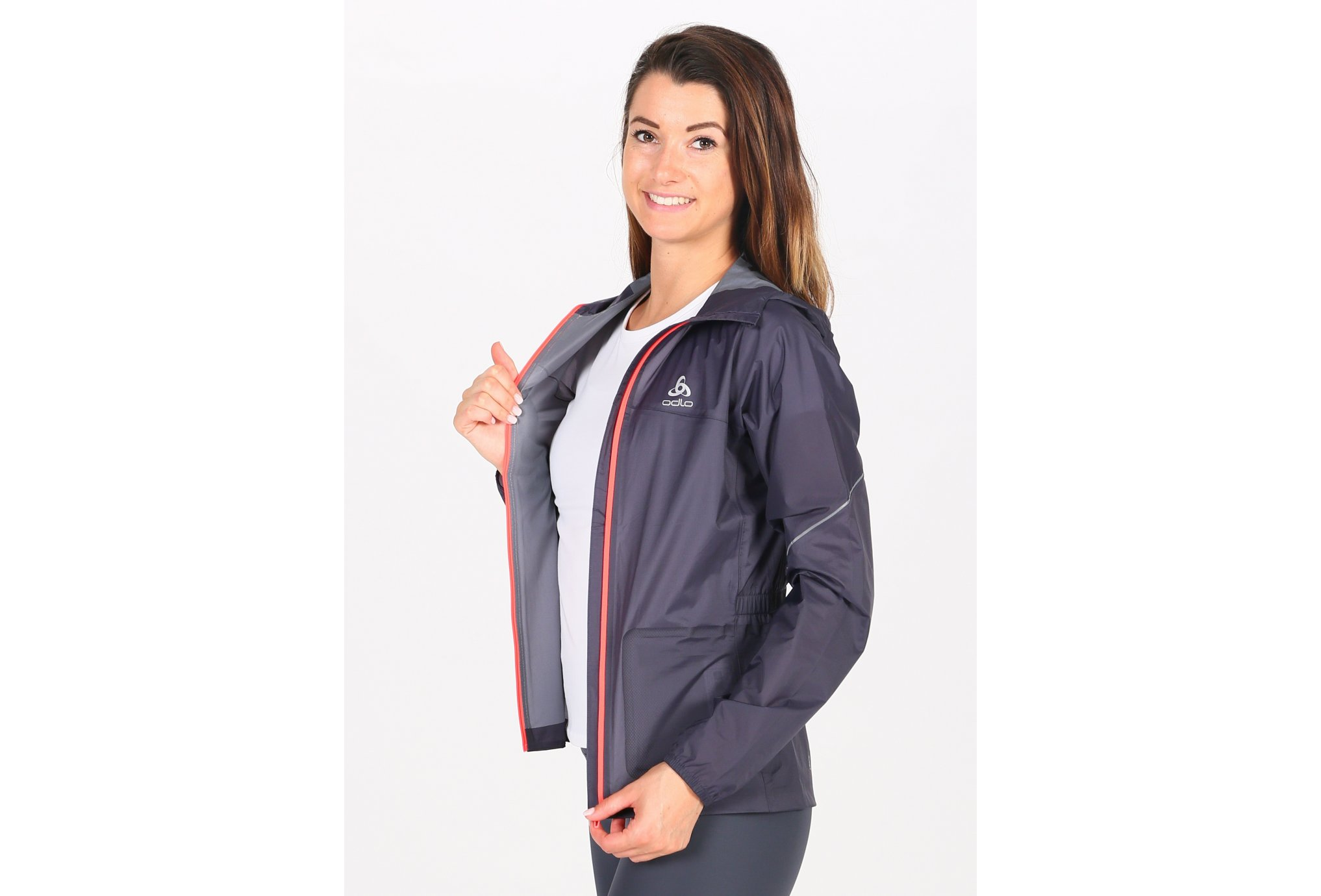 Odlo Zeroweight Rain Warm W vêtement running femme