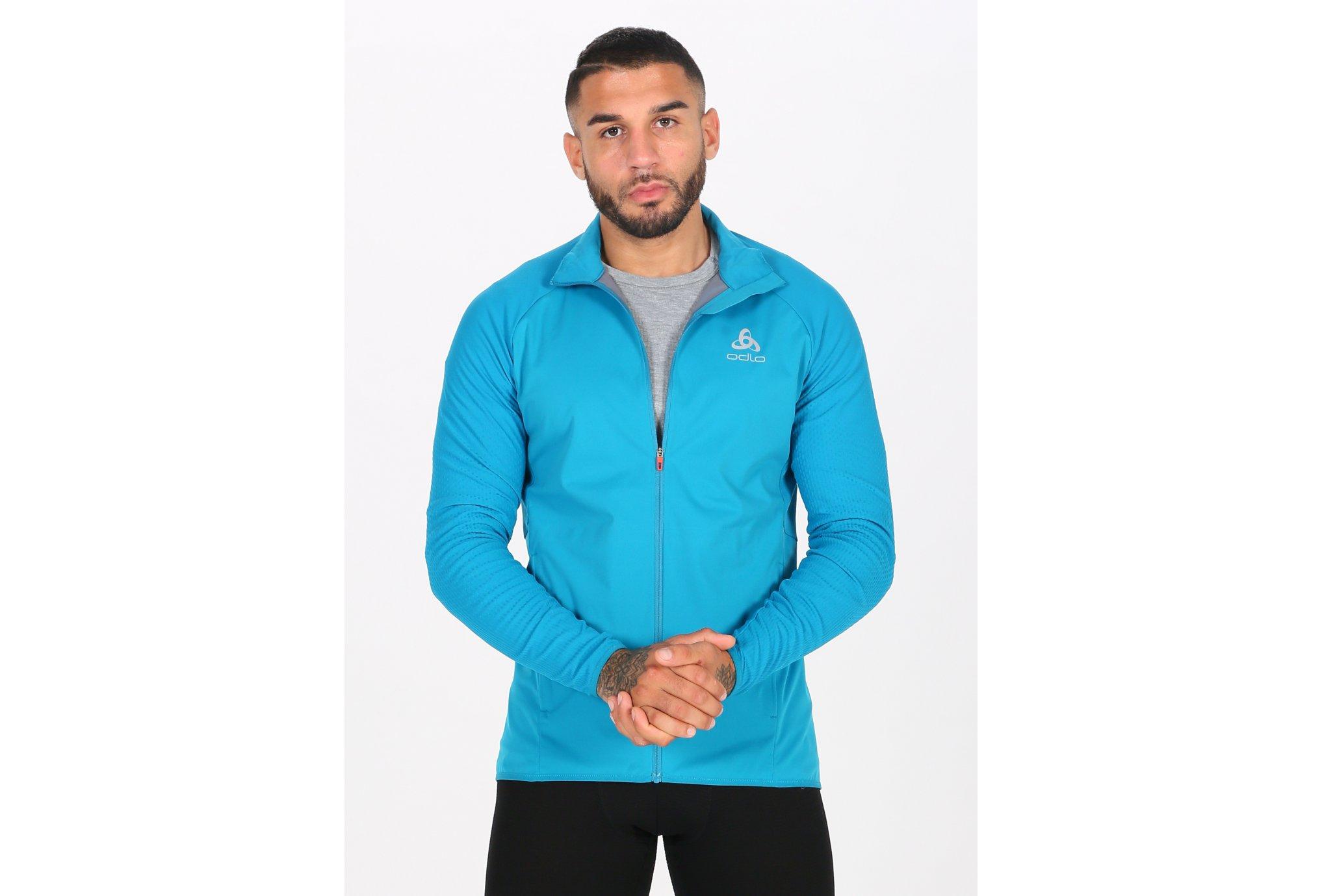 Odlo Zeroweight warm Hybrid M vêtement running homme