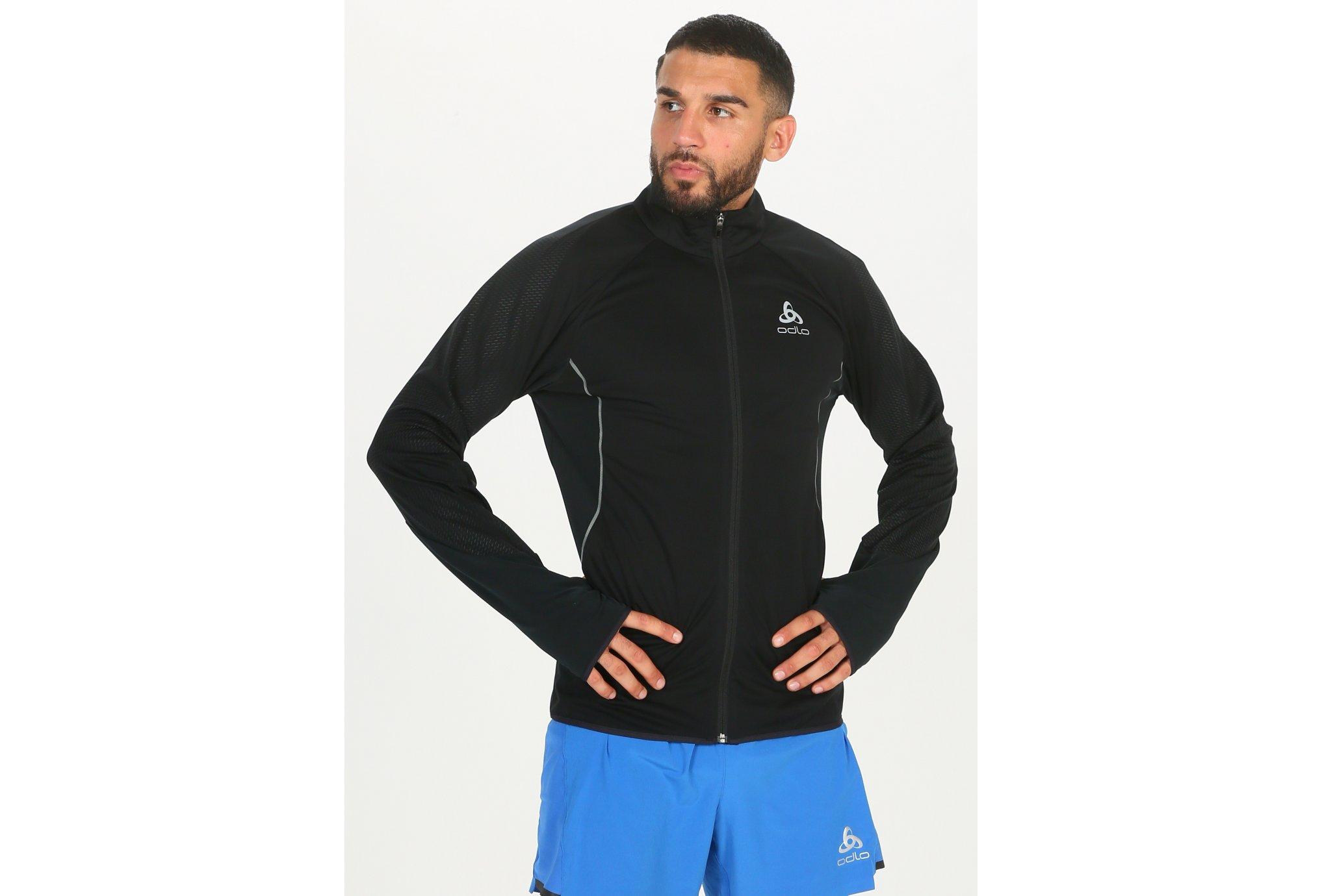 Odlo ZeroWeight Windproof Reflect Warm M vêtement running homme