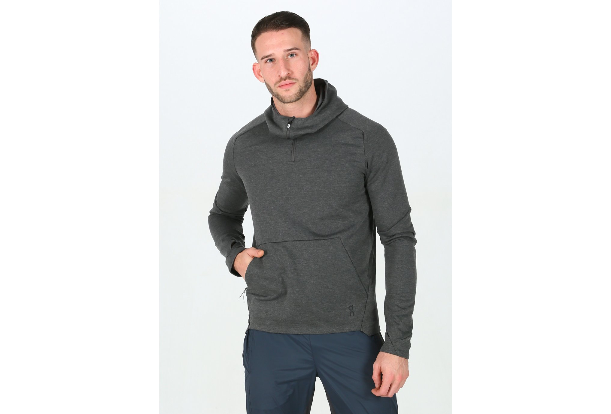 On-Running Hoodie M vêtement running homme