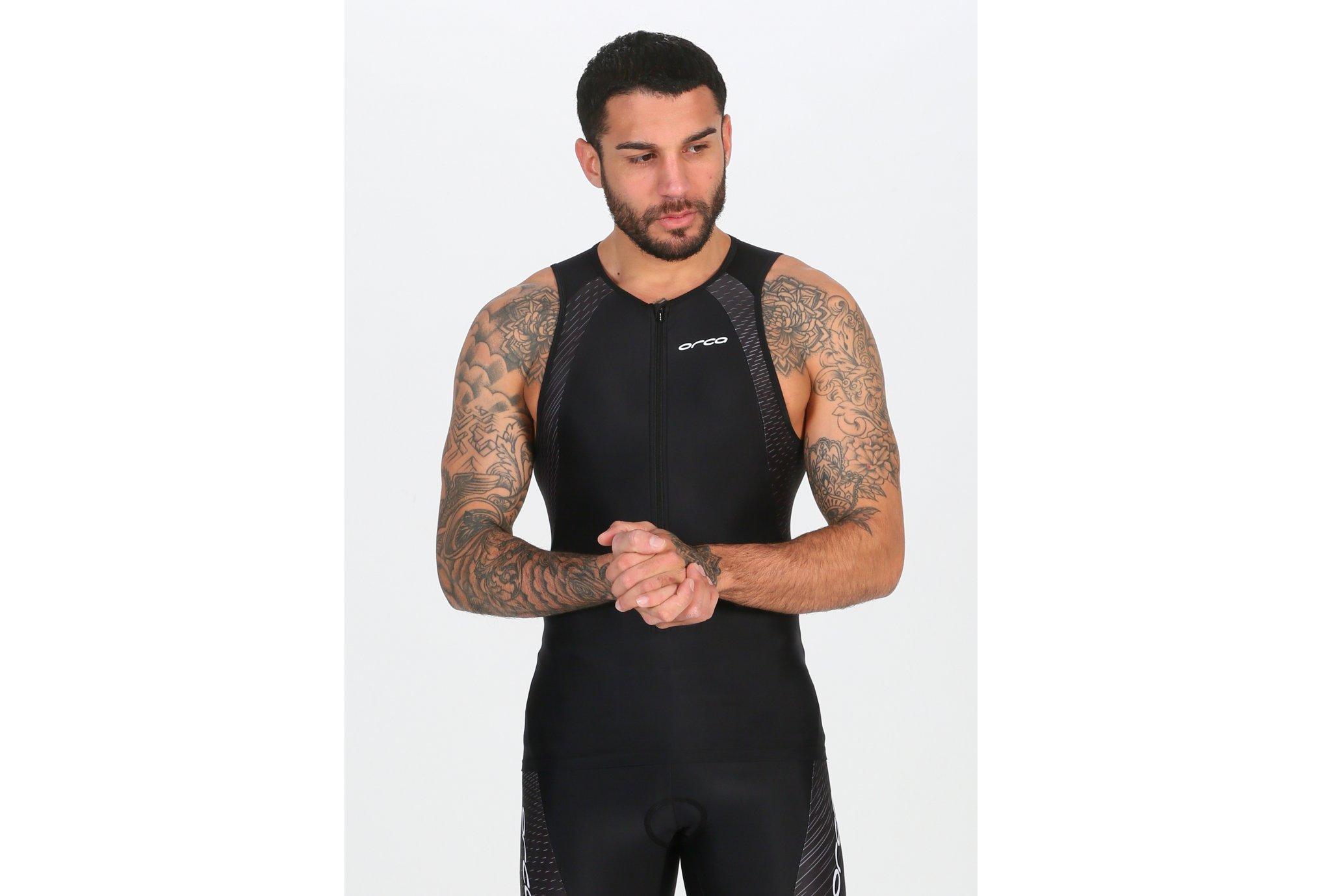 Orca Core Sleeveless Tri Top M vêtement running homme