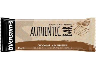 OVERSTIMS Authentic Bar - Chocolate y Cacahuetes