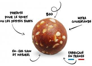 OVERSTIMS Energy Balls Bio - Chocolate y Avellana