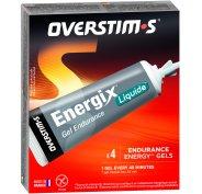 OVERSTIMS Étui Gels Endurance Energix Liquide - Fruits rouges