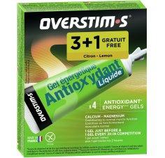OVERSTIMS Étui Gels Liquides Antioxydant 3+1 - Citron