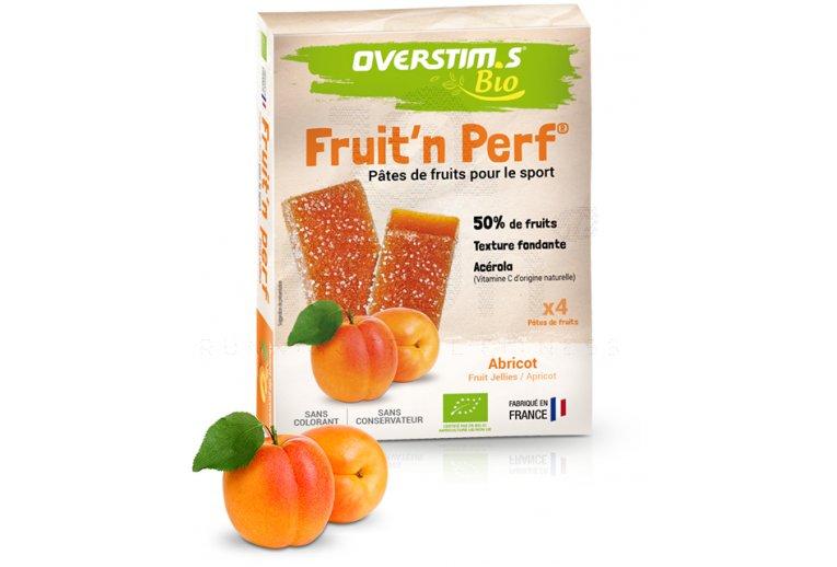 OVERSTIMS Étuis 4 barres Fruit'n Perf Bio - Abricot