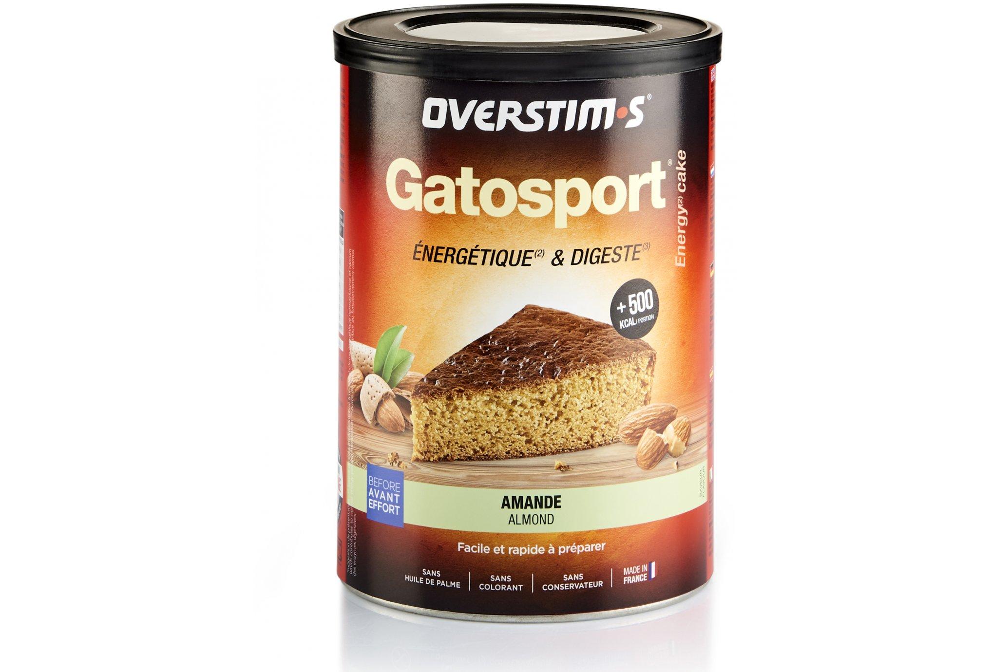 OVERSTIMS Gatosport 400 g - Amande Diététique Préparation