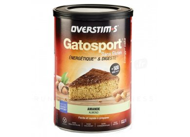 OVERSTIMS Gatosport 400 g - Amande sans gluten