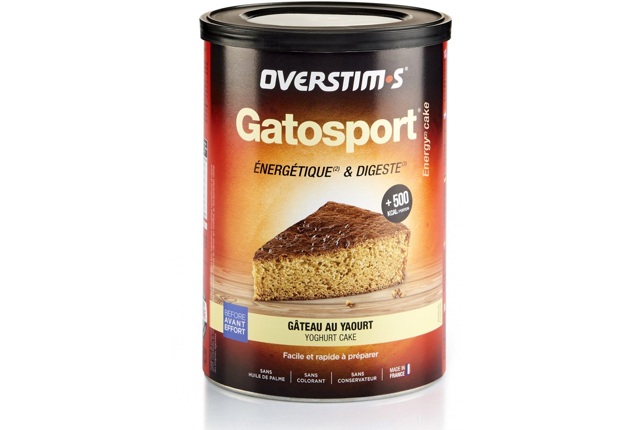 OVERSTIMS Gatosport 400 g - Gâteau au yaourt Diététique Préparation