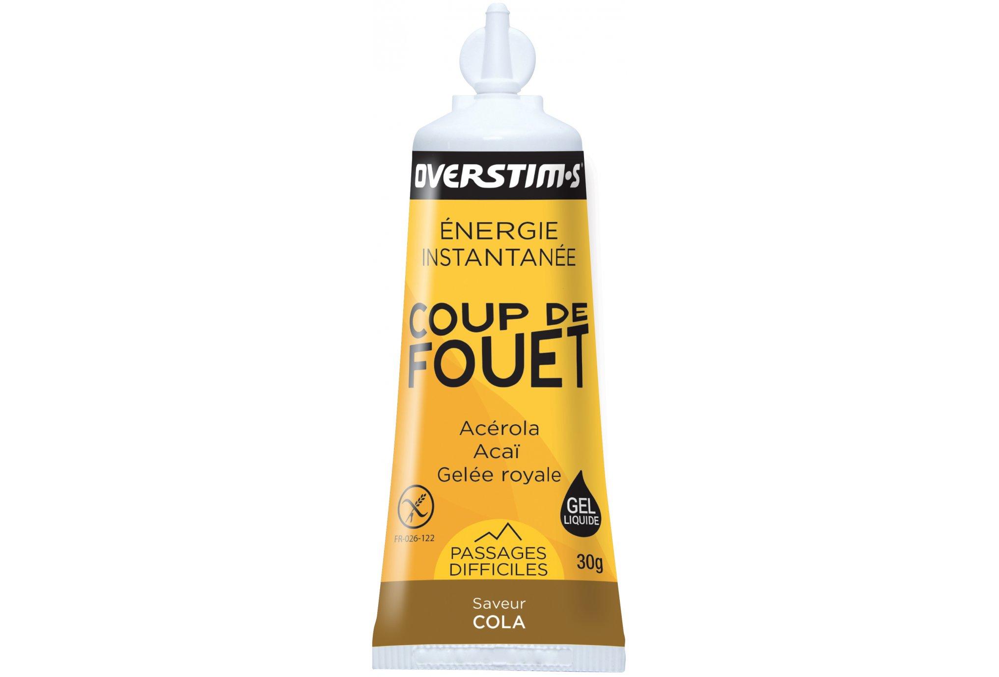 OVERSTIMS Gel energético Coup de Fuet-Cola Diététique Gels