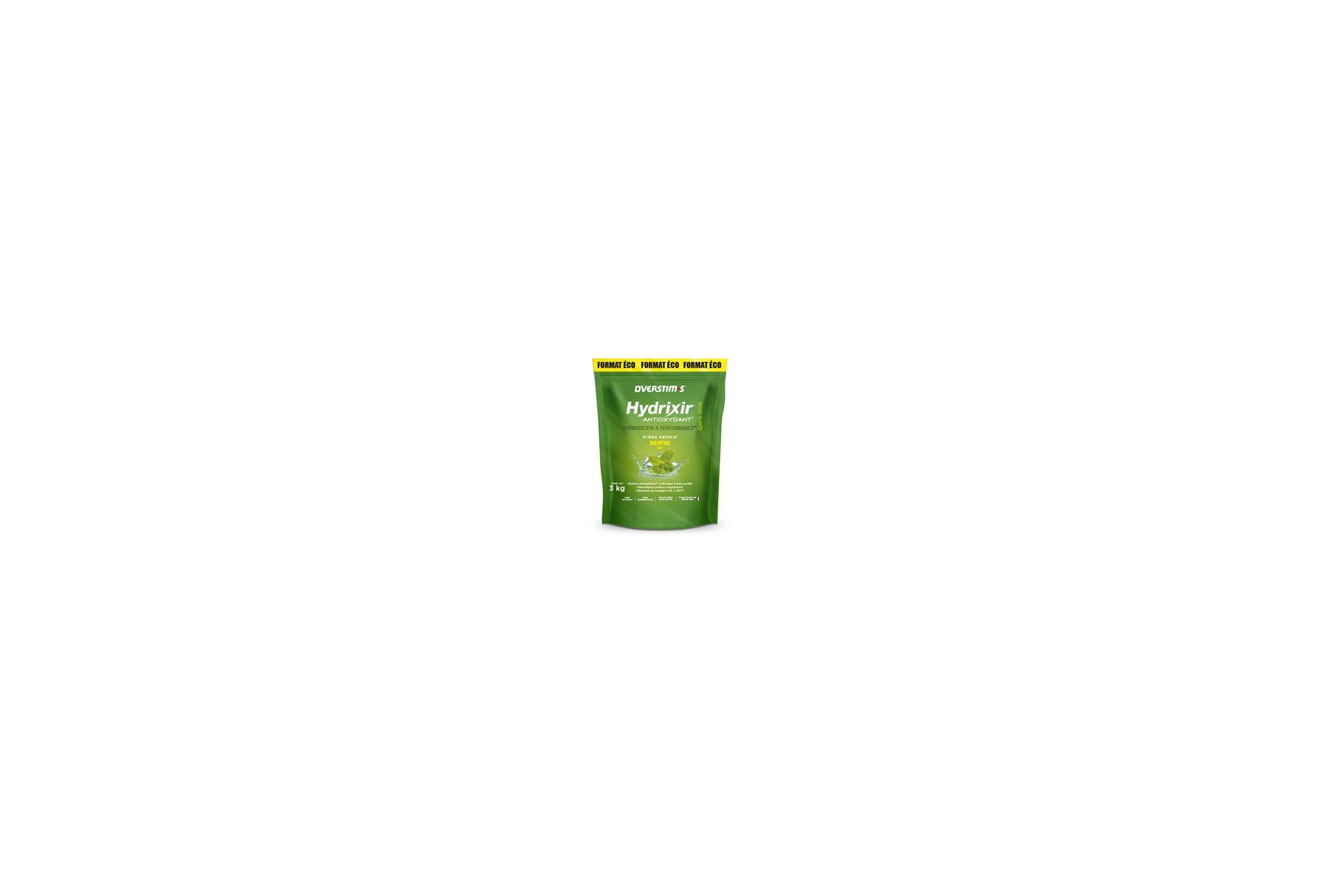 OVERSTIMS Hydrixir 3 kg - Menthe Diététique Boissons