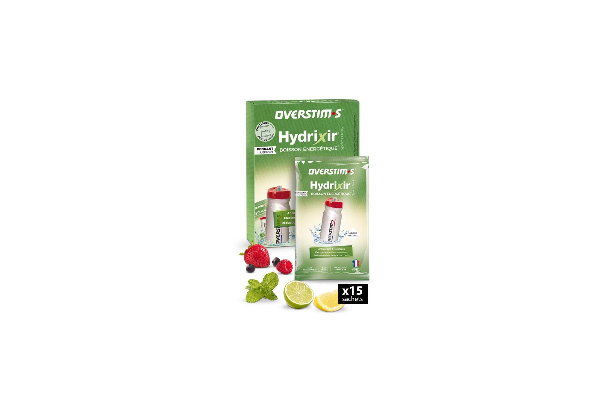 OVERSTIMS Hydrixir 15 sachets - Assortiment d'arômes Diététique Boissons