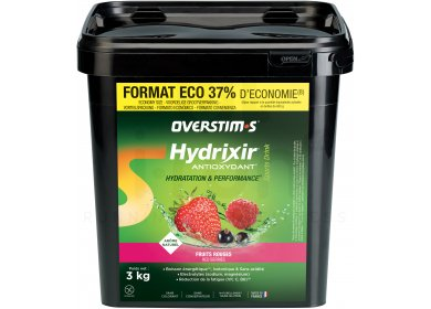 OVERSTIMS Hydrixir 3 kg - Fruits rouges