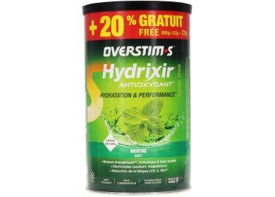 OVERSTIMS Hydrixir 600g + 20% gratuit - Menthe