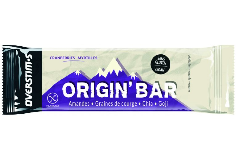 OVERSTIMS Origin Bar - Cranberries/myrtilles