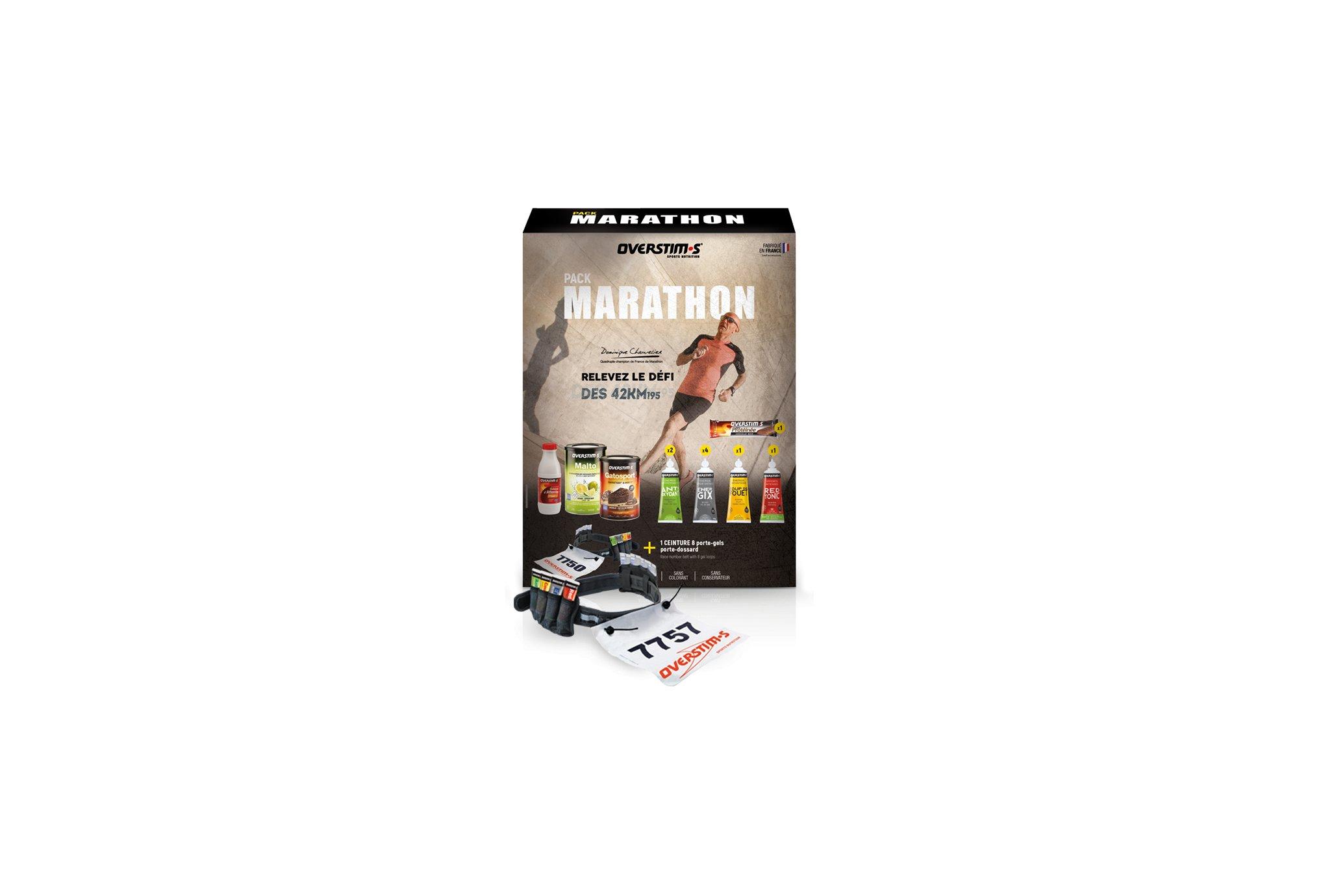 OVERSTIMS Pack Marathon Diététique Packs