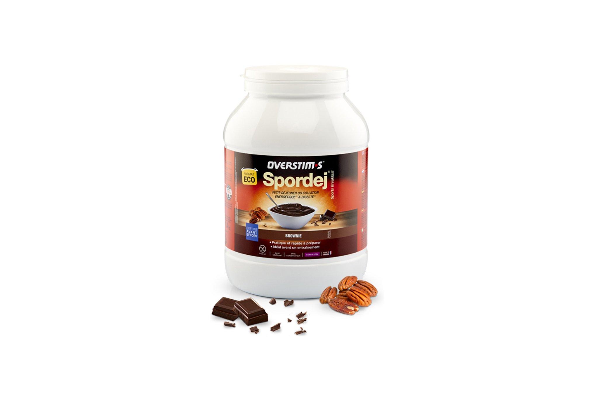 OVERSTIMS Spordej 1,5 kg - Brownie Diététique Préparation