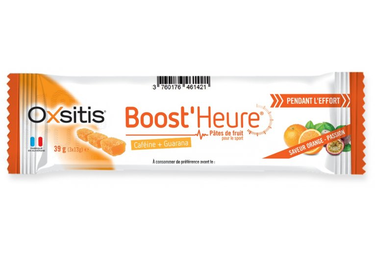 Oxsitis Pâte de Fruits Boost'Heure - Orange/Passion