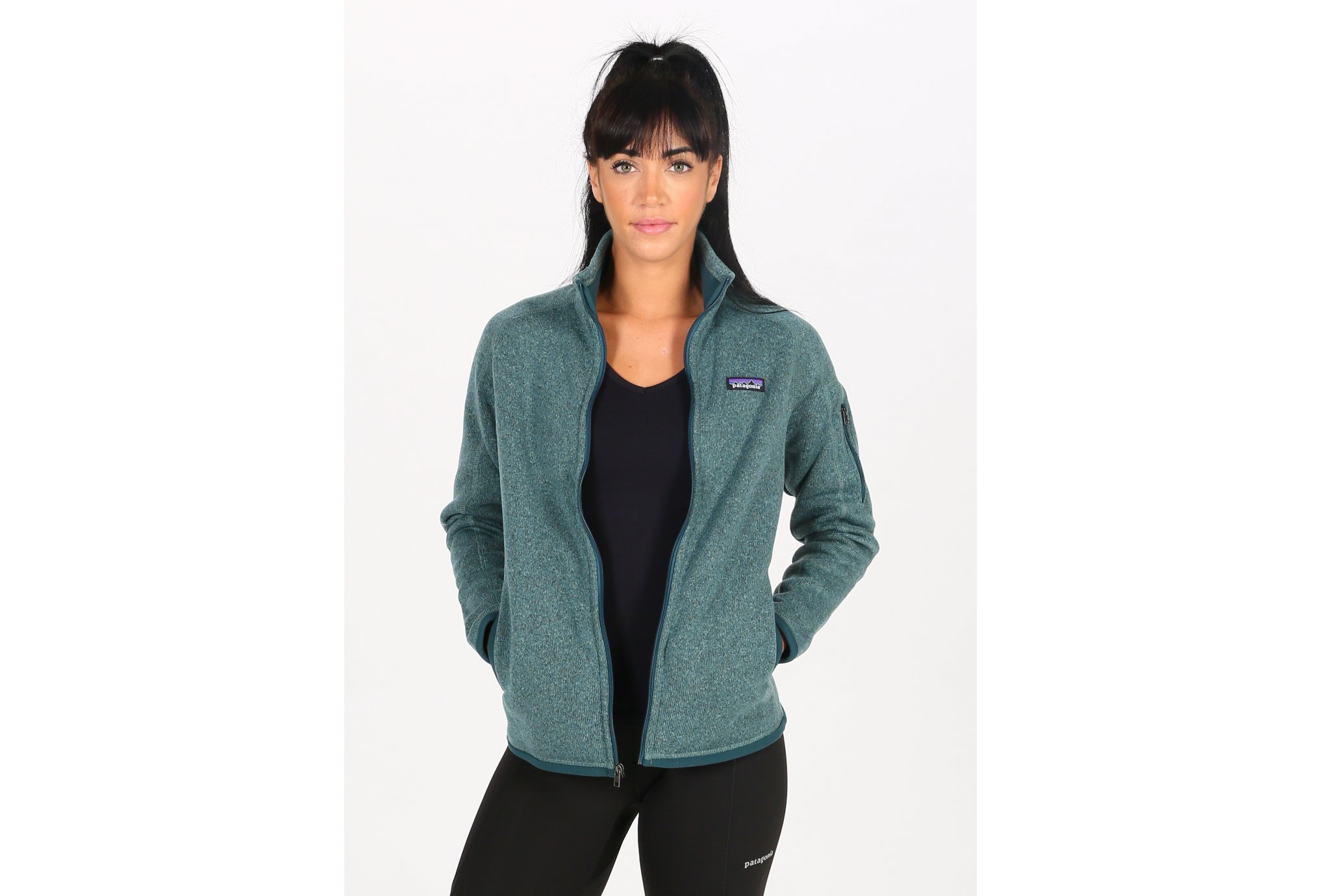 Patagonia Better Sweater W vêtement running femme