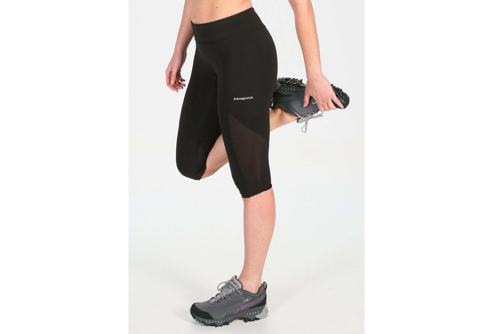 Patagonia Endless Run Capris W vêtement running femme