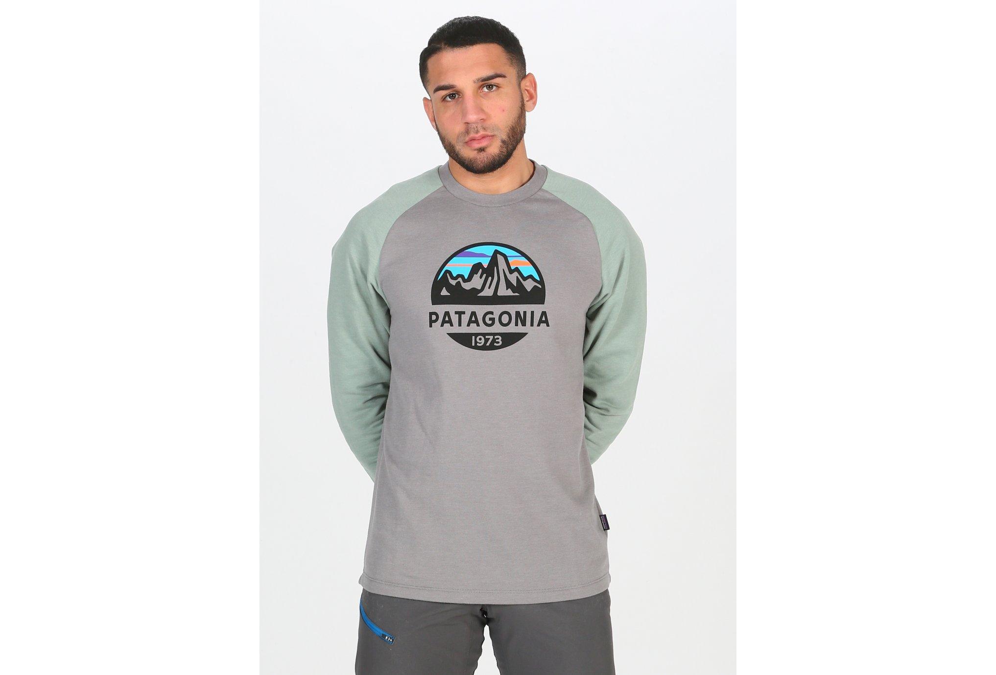 Patagonia Fitz Roy Scope Lightweight Crew M vêtement running homme
