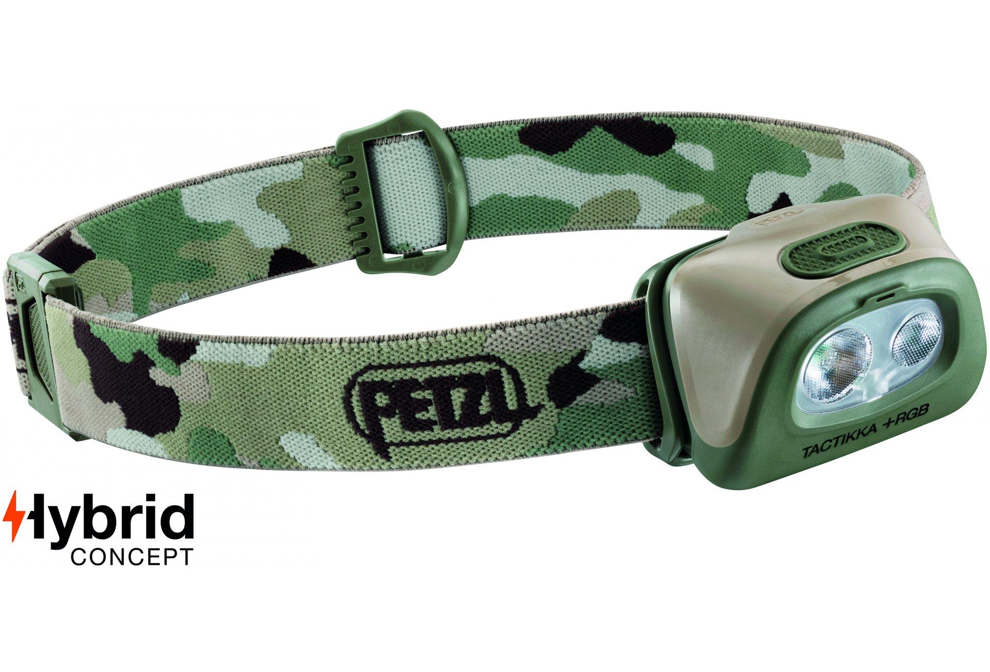 Petzl Tactikka + RGB - 350 lumens Lampe frontale / éclairage