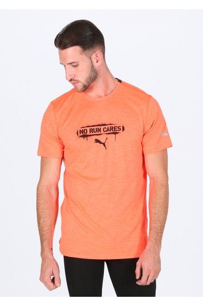 Puma camiseta manga corta Heather Slogan
