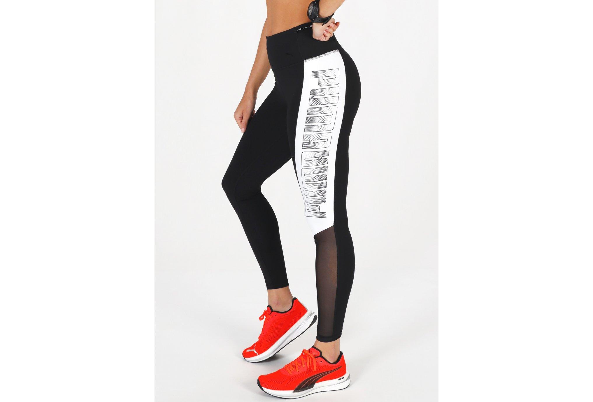 Puma Logo Block 7/8 W vêtement running femme