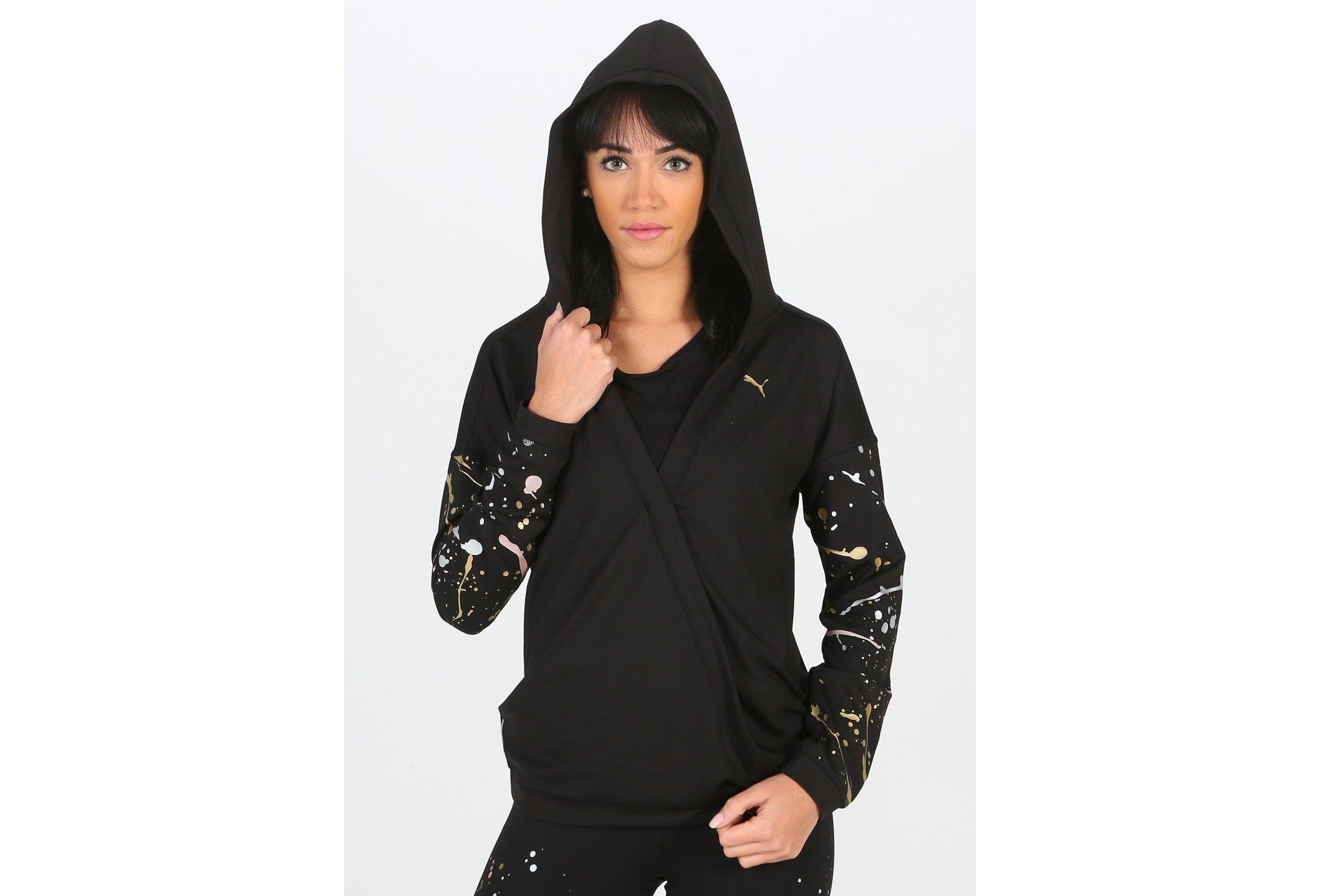 Puma Metal Splash Lux Wrap W vêtement running femme