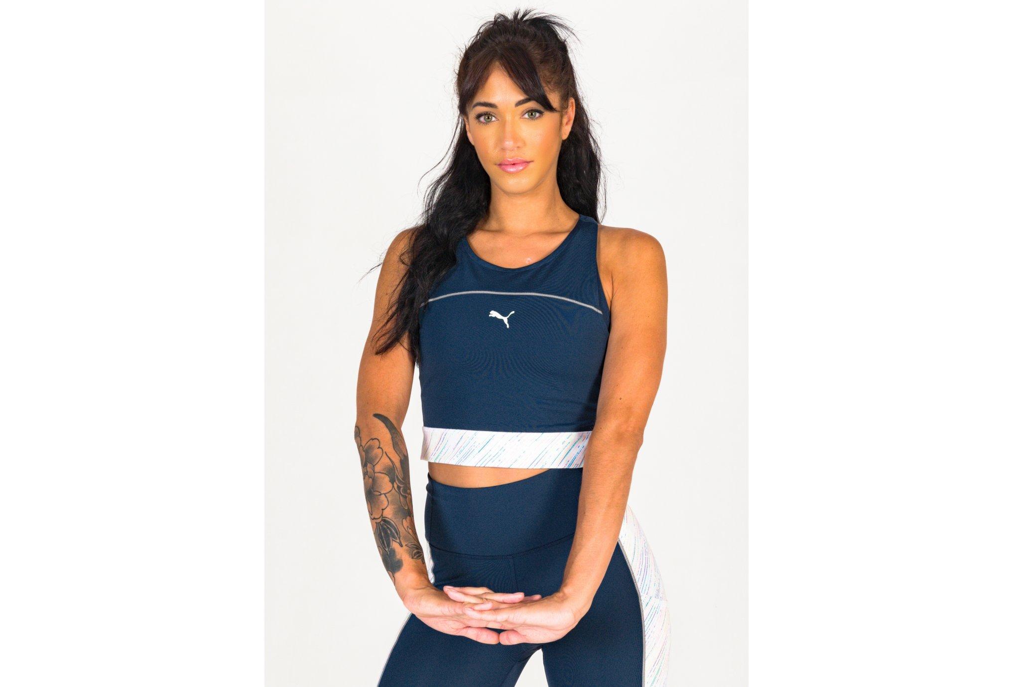 Puma Run AOP W vêtement running femme