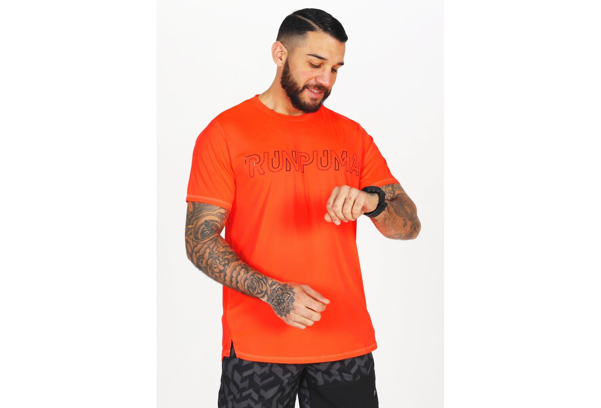 Puma Run Logo M vêtement running homme