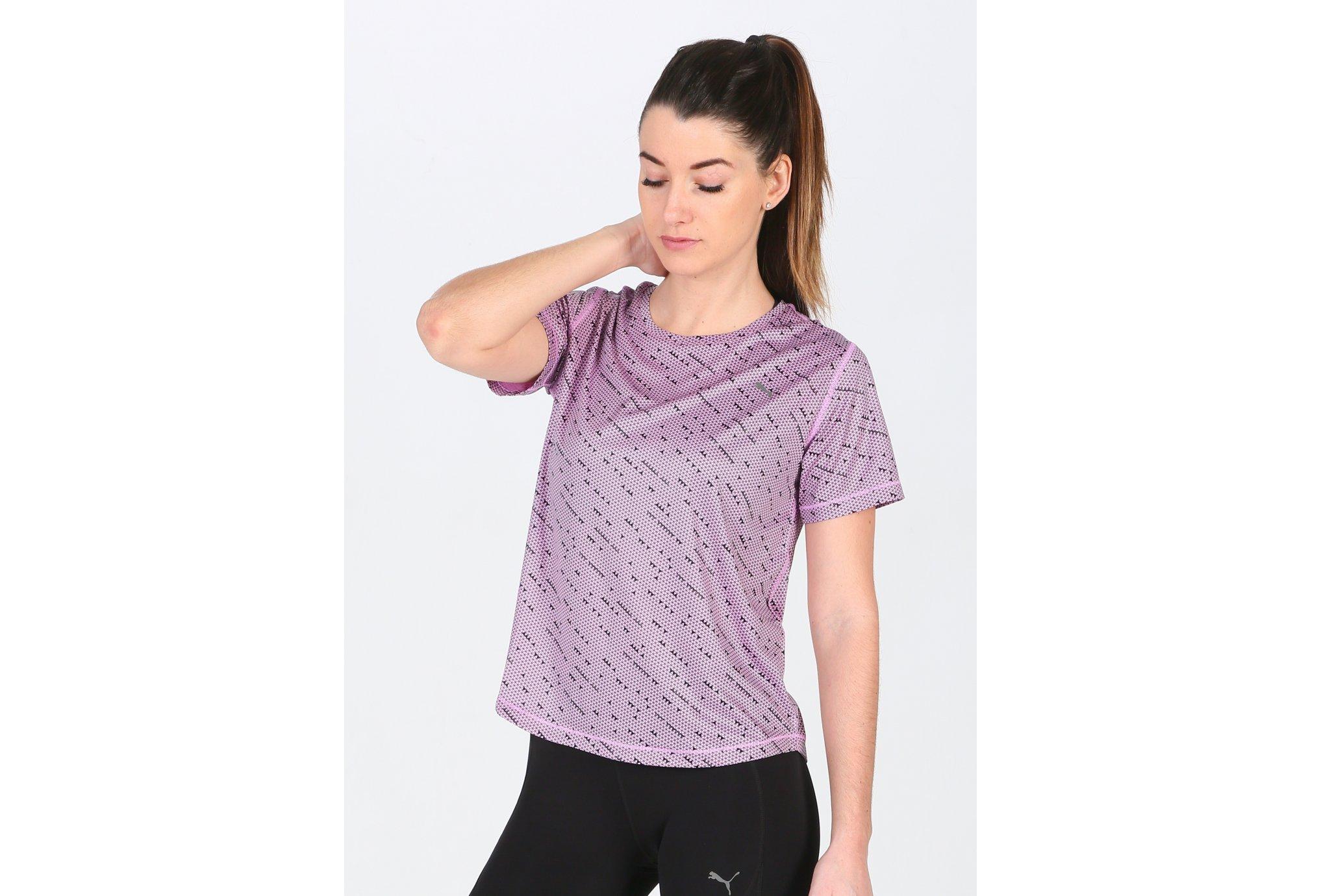 Puma S/S Ignite Graphic W vêtement running femme