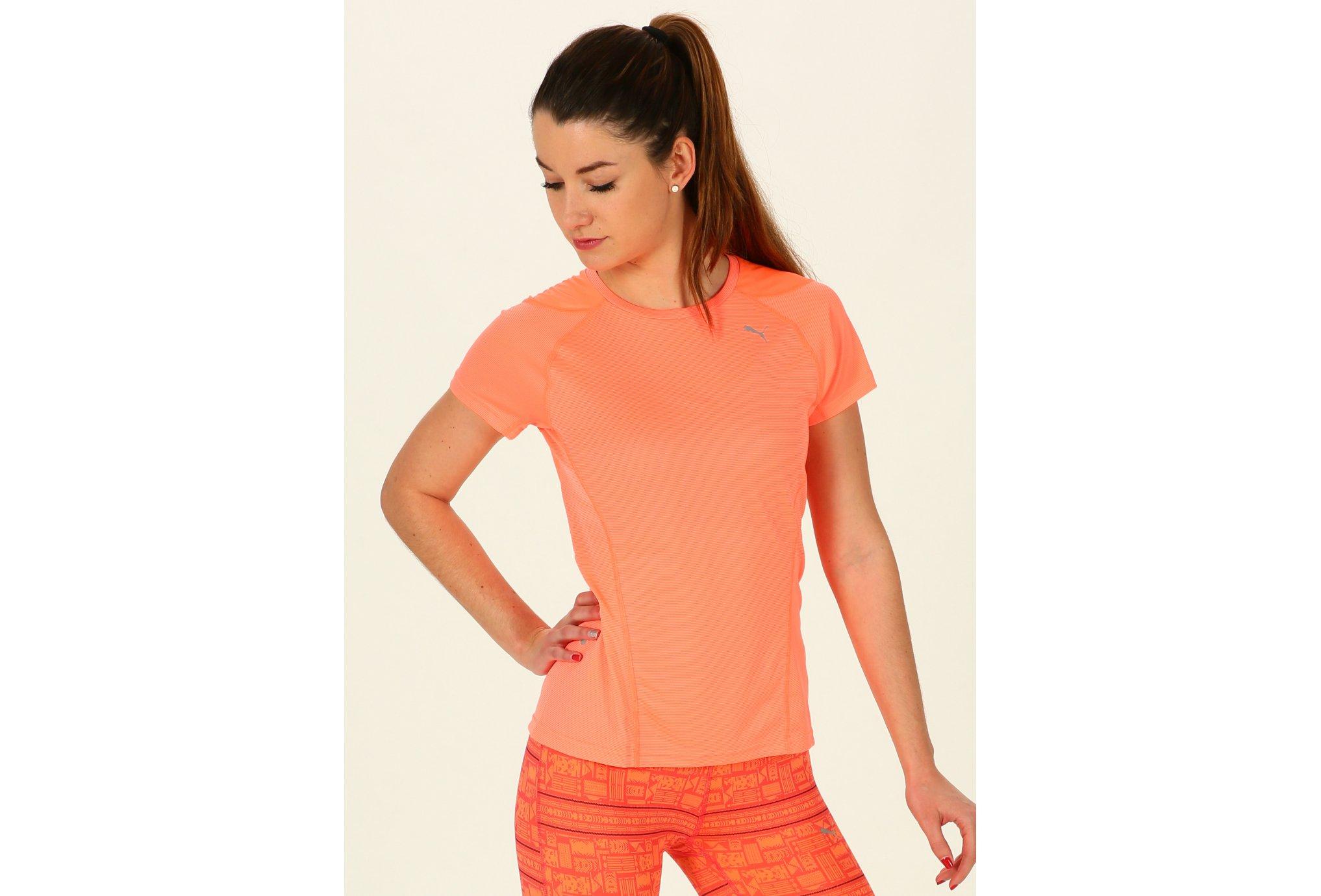 Puma Tee-shirt Faster Than You W vêtement running femme