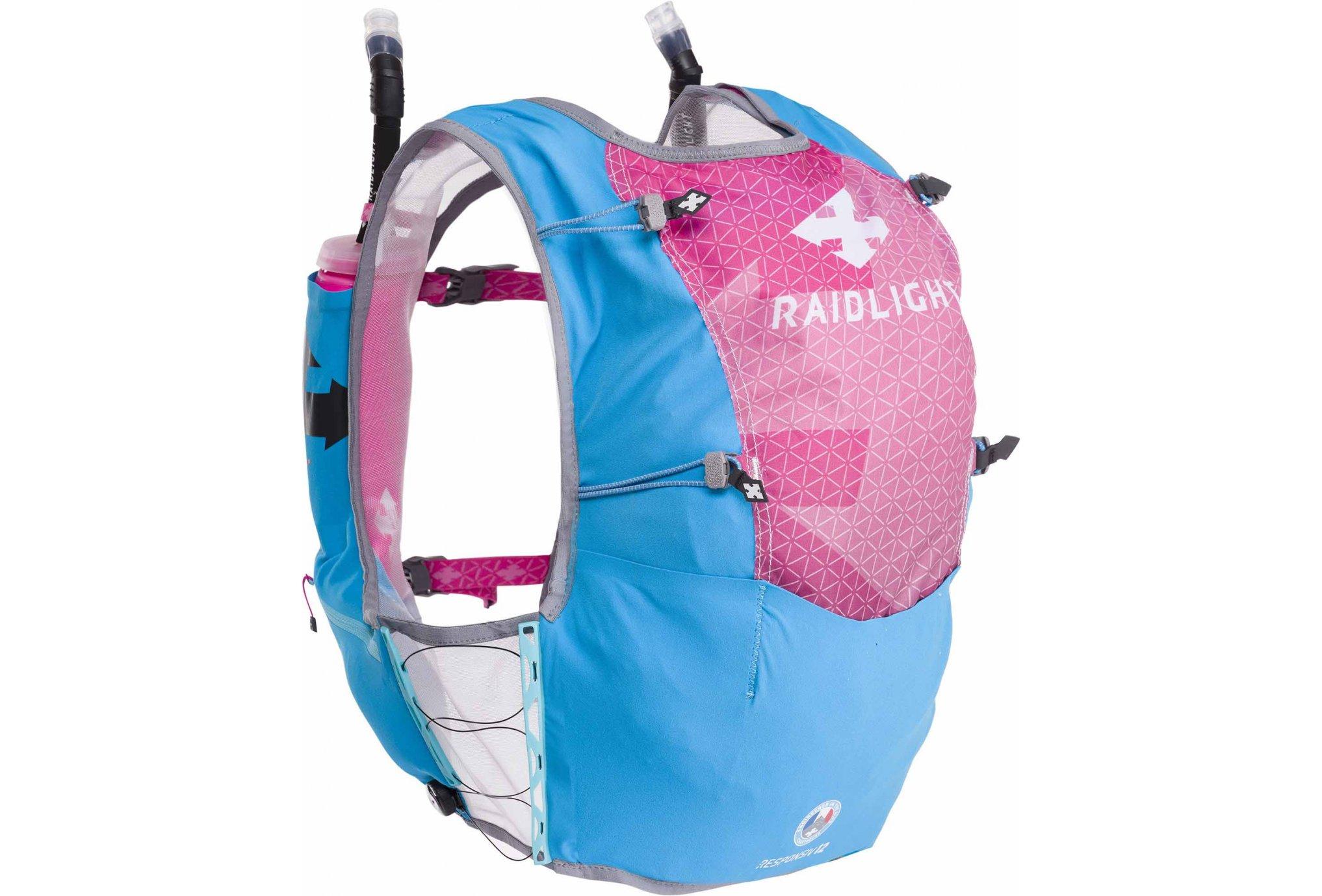 Raidlight Responsiv Vest 12L + 2 EazyFlask 600 mL W Sac hydratation / Gourde
