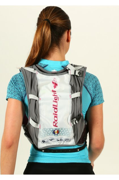 Raidlight Chaleco Responsive 8L + Bolsillo estanco