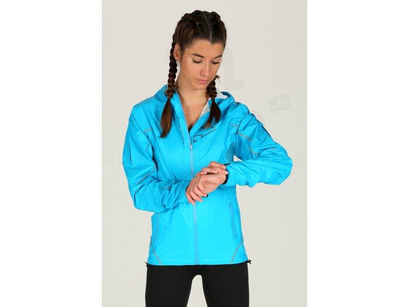 Raidlight Veste Top Extreme bleu turquoise femme pas