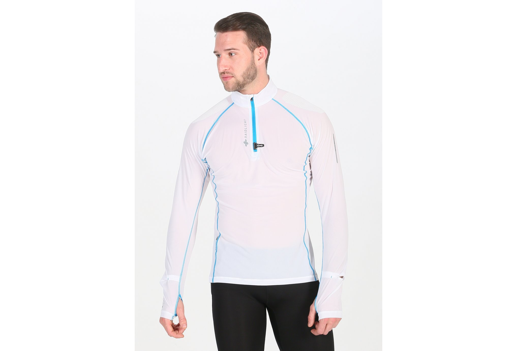 Raidlight Ultra Protect 1/2 Zip M vêtement running homme