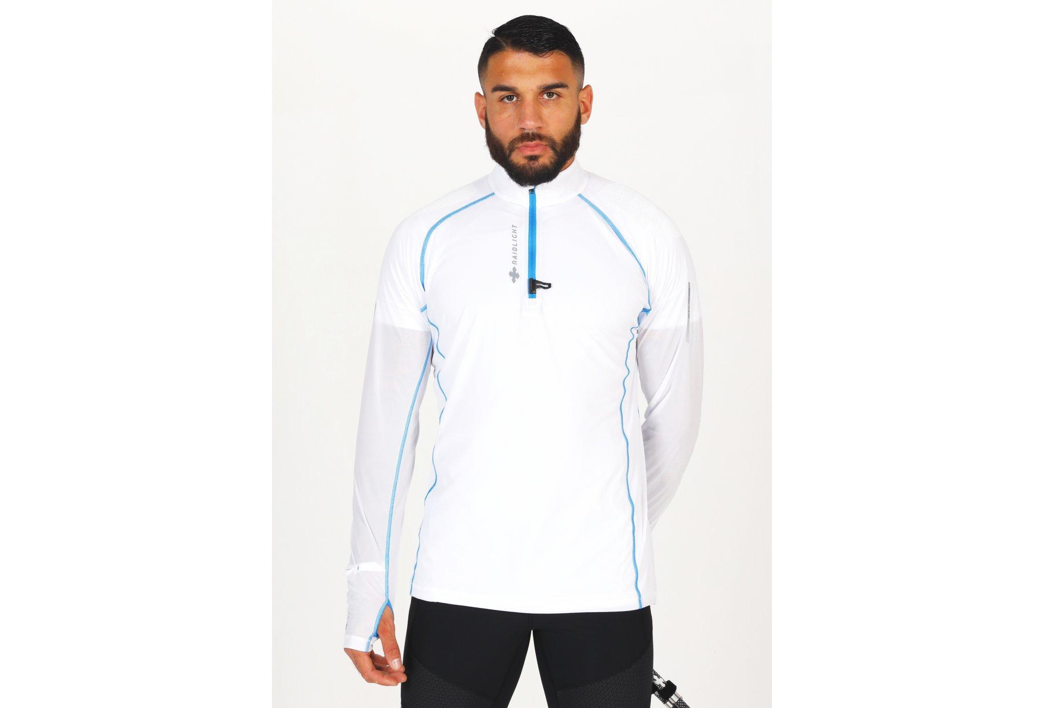 Raidlight Ultra Protect 1/2 Zip M vêtement running homme