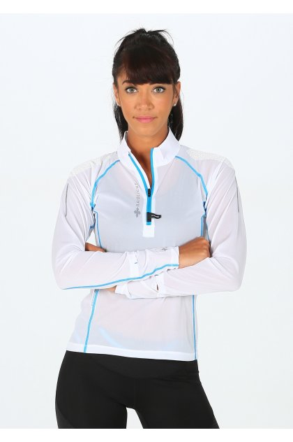 Raidlight camiseta manga larga Ultra Protect 1/2 Zip