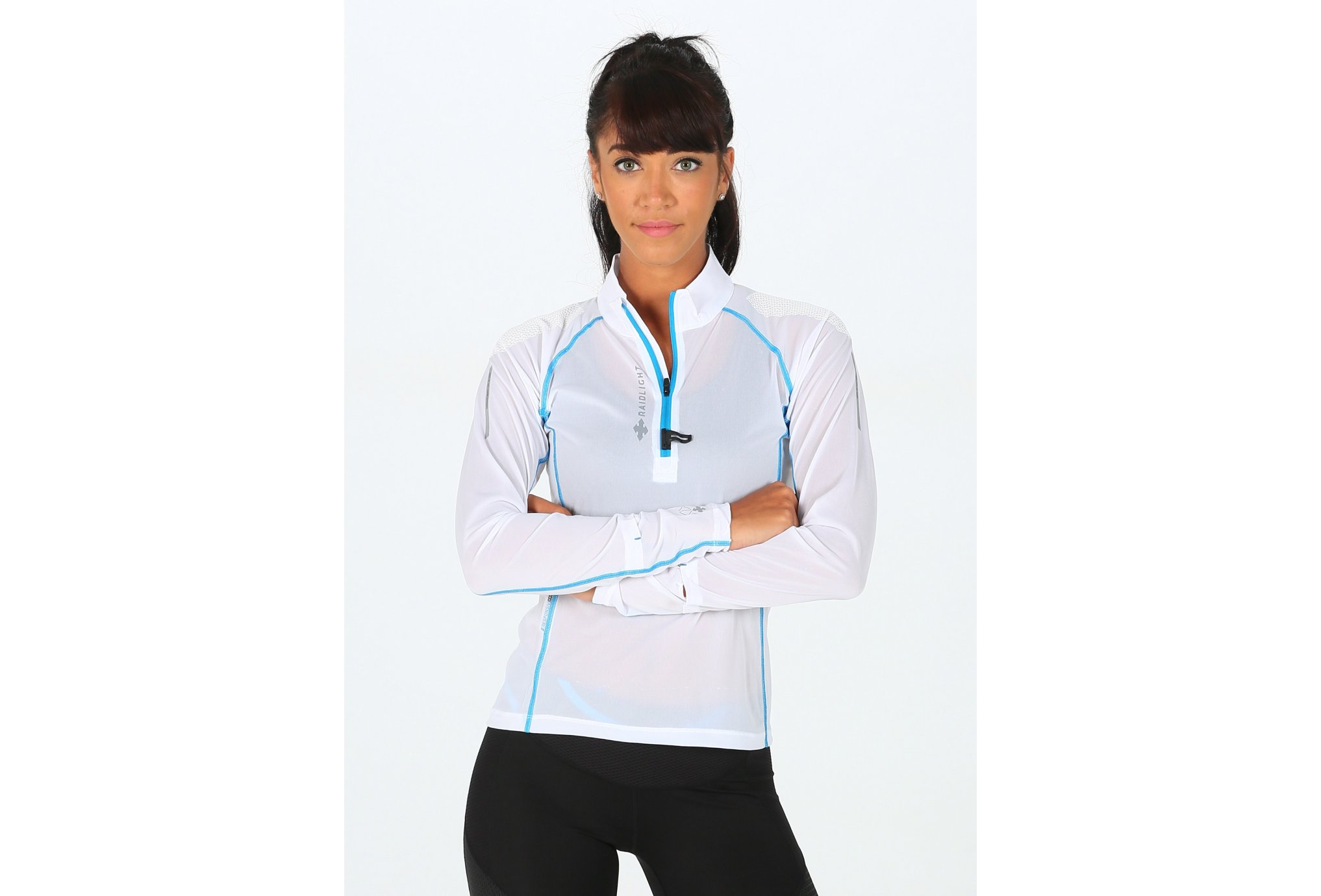Raidlight Ultra Protect 1/2 Zip W vêtement running femme